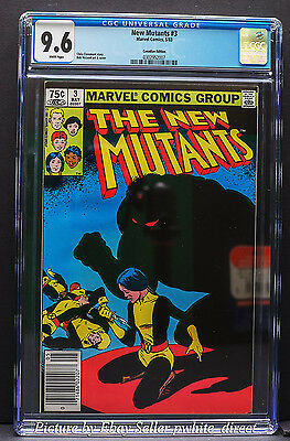 New Mutants #3, CGC: 9.6, (May 1983, Marvel)