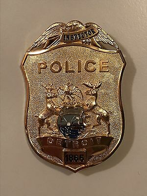 Detroit Police Department 150th Anniversary INSPECTOR Rank Badge