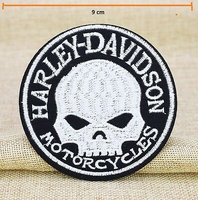 HARLEY DAVIDSON WILLIE G PATCH 9cm H-D BIKER VEST PATCHES