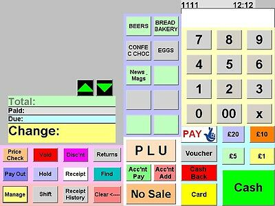 Epos Scanning Till Software for Shop, Convenience Store, Off licence and Retail'