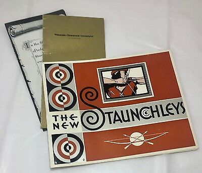 Vintage c1930s Staunchley Mens' Suits Wool Samples Clothing Advertising