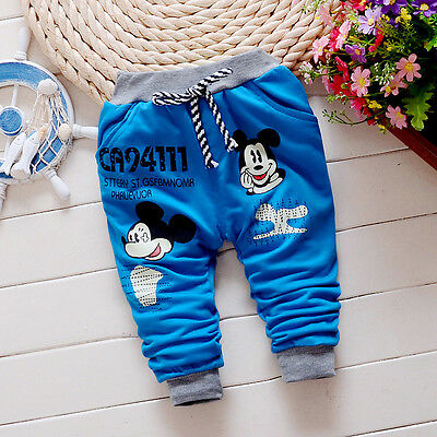 1PC Autumn Toddler Boys Bottom Trousers Kids Baby Infant Boy Child Long Bottoms