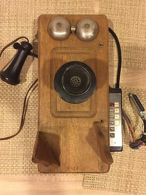 Antique Kellogg Crank Wall Mount Telephone Early 1900 number 2815