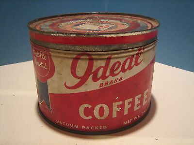 IDEAL coffee can / with lid