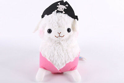 Baby Alpacasso Amuse Arpakasso Pirates Llama Alpaca Stuffed Plush Doll 11''