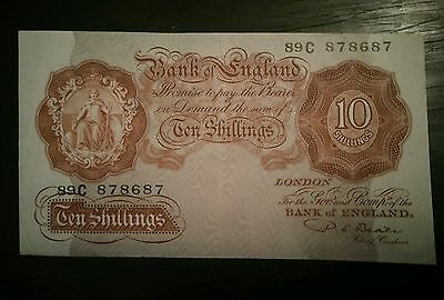 10 shillings Bank of England banknote 1949