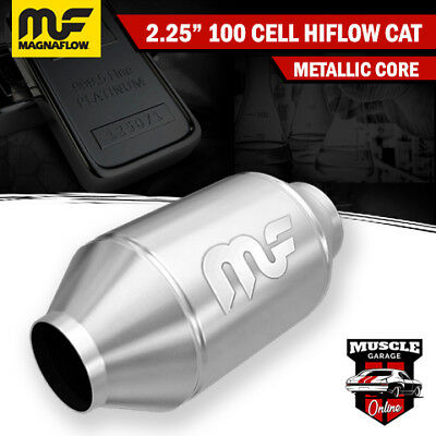 "2.25"" 100 Cell HiFlow Metallic Core Stainless Steel Magnaflow Cat Converter"