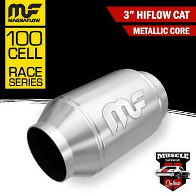 "3"" 100 Cell HiFlow Metallic Core Stainless Steel Magnaflow Cat Converter"