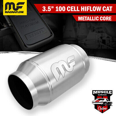 "3.5"" 100 Cell HiFlow Metallic Core Stainless Steel Magnaflow Cat Converter"
