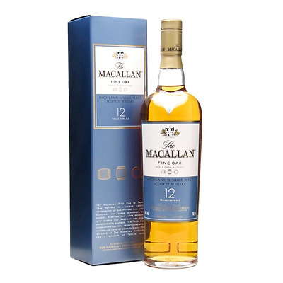 The Macallan 12 Year Old  Fine Oak Scotch Whisky (700ml)