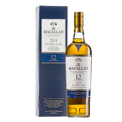 The Macallan 12 Year Old  Double Cask Scotch Whisky (700ml)
