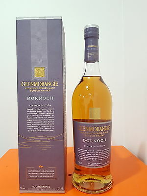 GLENMORANGIE DORNOCH LIMITED EDITION SINGLE MALT SCOTCH WHISKY 700ML 43 % abv