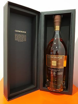 GLENMORANGIE EXTREMELY RARE 18 YEAR OLD SINGLE MALT SCOTCH WHISKY 700ML 43 % abv