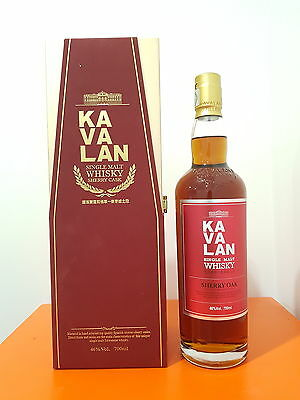 Kavalan Sherry Oak Single Malt Whisky 700ml