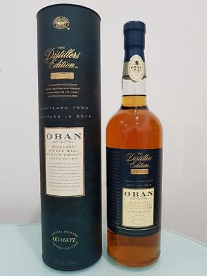 Oban Distillers Edition Single Malt Scotch Whisky 700ml 43 % abv