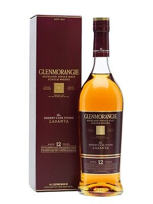 Glenmorangie The Lasanta 12 Year Old Single Malt Scotch Whisky (700ml)