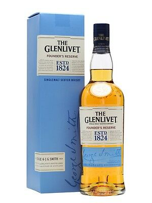 Glenlivet Founder's Reserve Single Malt Scotch Whisky (700ml)
