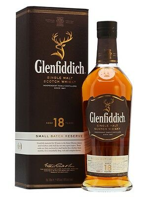 Glenfiddich 18 Year Old Single Malt Scotch Whisky 700ml 40 % abv