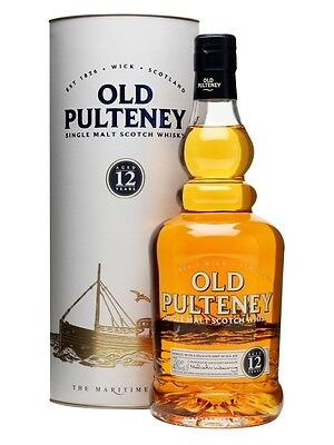 Old Pulteney 12 Year Old Single Malt Scotch Whisky (700ml)