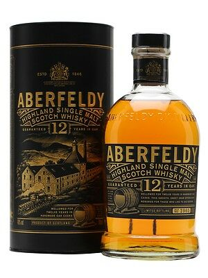Aberfeldy 12 Year Old Single Malt Scotch Whisky (700ml)