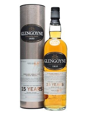 Glengoyne 15 Year Old Single Malt Scotch Whisky (700ml)