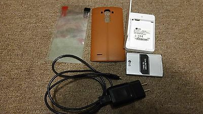 LG G4 Leather Case + Charger Kit
