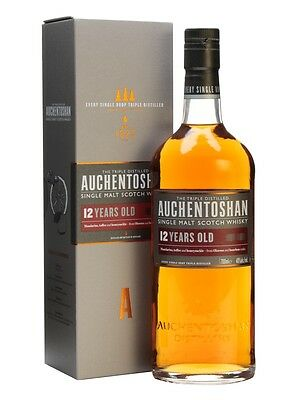 Auchentoshan 12 Year Old Single Malt Scotch Whisky (700ml)