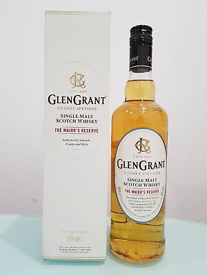 Glen Grant The Major's Reserve Single Malt Scotch Whisky 700ml @ 40 % abv    ...