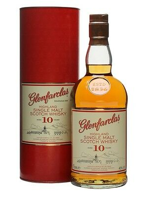 Glenfarclas 10 Year Old Single Malt Scotch Whisky (700ml)