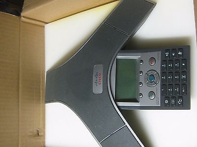 CISCO CP-7937G UNIFIED VoIP IP CONFERENCE STATION PHONE 2201-40100-001