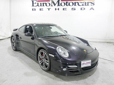 2011 Porsche 911 2dr Coupe Turbo porsche 911 turbo 997 s coupe auto black leather 997.2 pdk 10 11 12 best used
