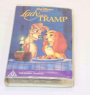 Lady and the Tramp VHS 1990s  #11711