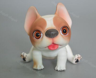 1/12 bjd doll ball jointed dolls cute pet dog face+body make up