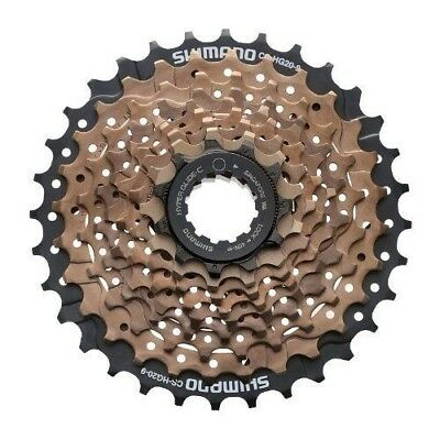 Shimano CS-HG20-9 11-32T Tooth 9 Speed Bicycle Cassette MTB Bike Brown/Black