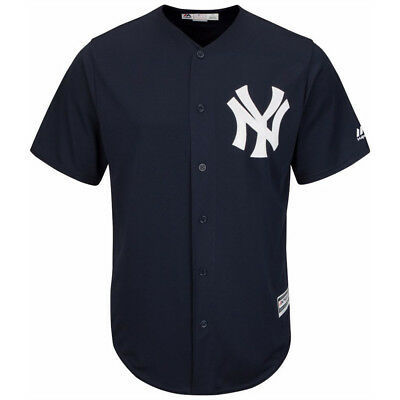 New York Yankees Majestic MLB AC Cool Base Replica Jersey - Navy