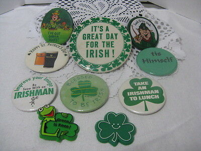 St Patrick's Day Bag of Buttons ~ **Gift Idea