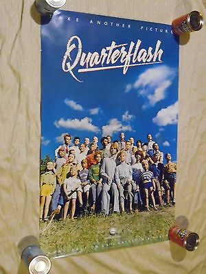 Quarterflash Take Another Picture 1983 Vintage Music 23 X 35 Poster