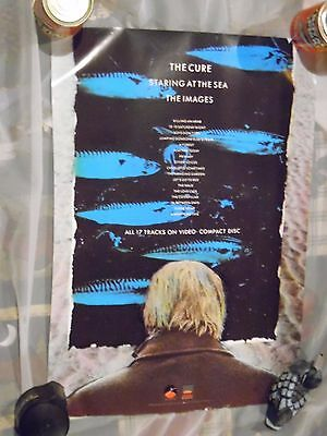 The Cure 1986 Staring At The Sea /The Images VHS Poster Robert Smith MTV 24 x 26
