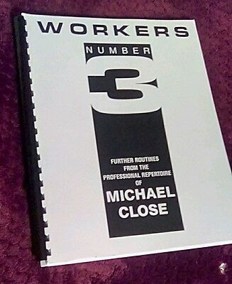 Workers Number 3 Book by Michael Close
