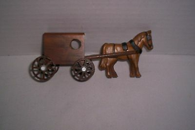 Small Wood Amish Horse And Buggy (Lancaster, PA)