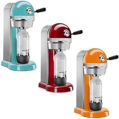 Soda Stream Kitchen Aid Beverage Maker Seltzer INTERNATIONAL SHIPPING! Any Color
