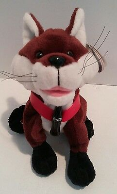 FANNY THE FOX FROM GERMANY coca cola international beanies 6 inches new