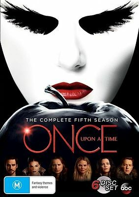 Once Upon A Time The Complete Fifth Season 5 BRAND NEW SEALED R4 DVD