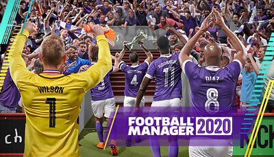 Football Manager 2020 Steam Game Key (PC/MAC) - DE/Europe ONLY