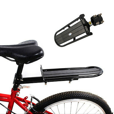 Adjustable Bike Bicycle Rear Cargo Rack Touring Bag Panniers Carrier Rack BVCA