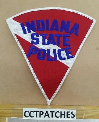 Indiana State Police Red/white/blue Shoulder Patch In