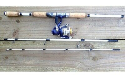 NEW White Tiger Spin Travel Rod with Traveller TRV30 Reel Fishing Reels Rod Tack