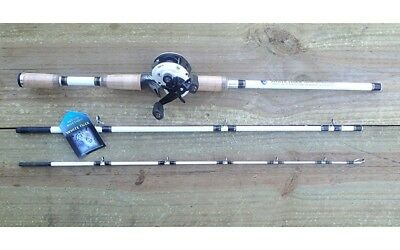 NEW White Tiger Baitcaster Abu Garcia Revo S Fishing Reels Rod Tackle Jigs Lures