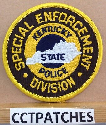 Kentucky State Police  Special Enforcement Division Shoulder Patch Ky