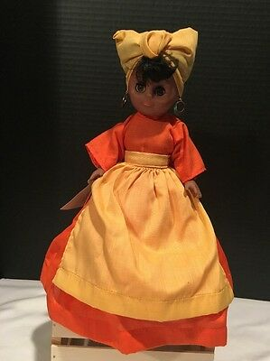 "Original Gambina African American Doll "" Nola"" Made in New Orleans"